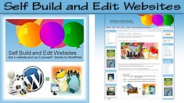 build and edit your own website with wordpress