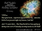 Prof Puckit's slightly biased history lectures – Crab Nebula