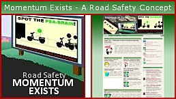 momentum exists is a road safety concept